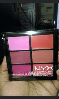 NYX Lip Palette The Pinks
