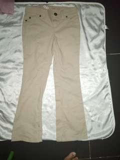 pants khaki for 7t girl