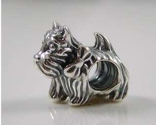 Pandora Charm(Pandora Scottie Dog Charm)