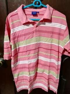 Arrow Pink Polo Shirt Size Large (Fits XL)