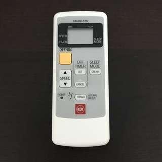 Brand new KDK Z60WS K15Y6 Remote Control