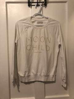 "Spiritual Gangster ""Moon Child"" crew neck"