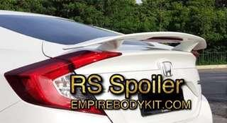 RS Styling Spoiler for Honda Civic FC 2017-2019
