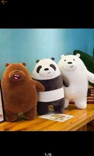We bare bears toy