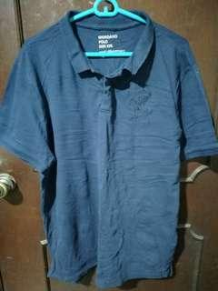Giodano Blue Polo Shirt Size XXL