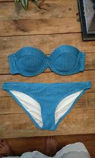 Rusty blue bikinis