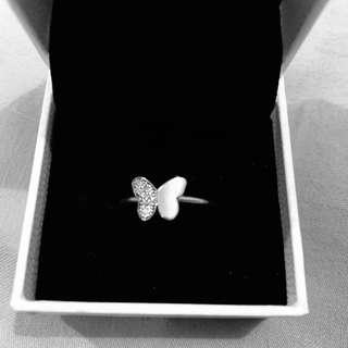 Authentic Pandora Fluttering Butterfly Ring