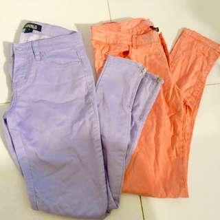 H&M and Forever 21 pants bundle