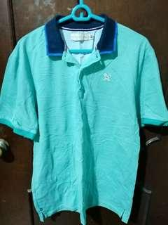 Regatta Teal Polo Shirt Size XL