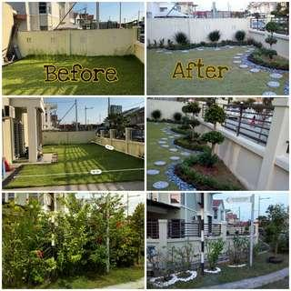 Landscape Service/Trim & Potong Pokok/Potong Rumput/Garden Maintenance