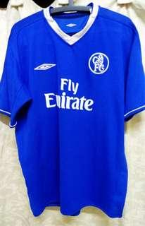 Original Genuine Authentic Chelsea Football Club Home Jersey 2003/05 ( Vintage Collection ) Reversible!