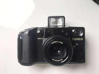🚚 [超美品]黑武士Konica Z-UP80RC 旗艦型 底片相機