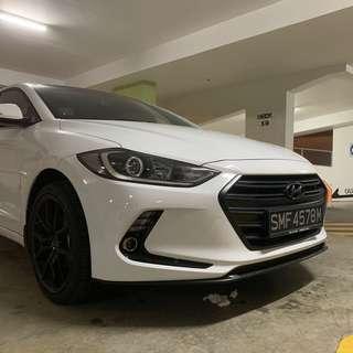 Hyundai Elantra Plastidip Dechrome Plasti dip