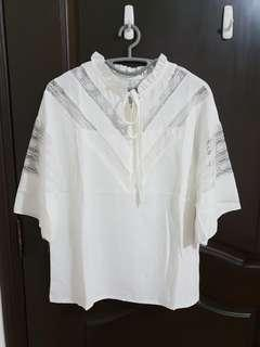 V Lace Blouse -New Buy 1 get 1 free (same price)