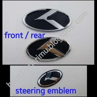 KIA 'K' Emblem