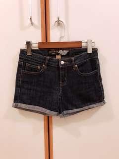 全新Cotton on深藍色牛仔短褲
