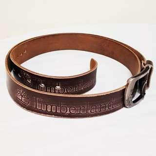 TIMBERLAND Solid Leather Belt for Men. Thick & Strong, Soft & Comfortable. Rustic Design. Good condition, no damage. 44-52 inch waist.
