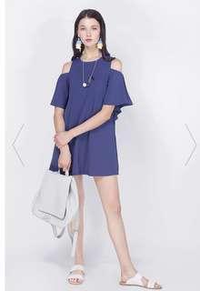 BNWT Fayth Celesta Cold Shoulder Dress