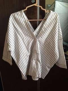 BN Stripes Blouse #precny60