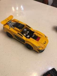 Lego75909 mclaren p1車仔連人