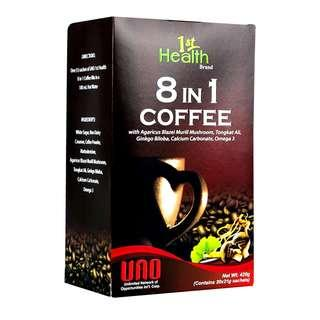 1ST HEALTH BRAND 8 IN 1 COFFEE
