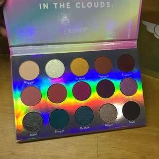 Colourpop chasing rainbows palette