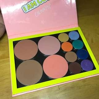 Curated colourpop palette