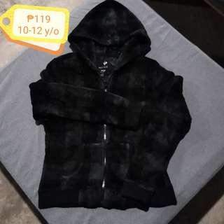 🌷Black Velvet Hoodie Jacket