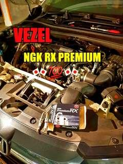 Honda Vezel Spark plug ( NGK RX PREMIUM )