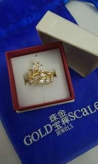 Gold Scale Ring