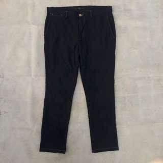 OLD NAVY CHINOPANT SOLID BLACK STRETCH