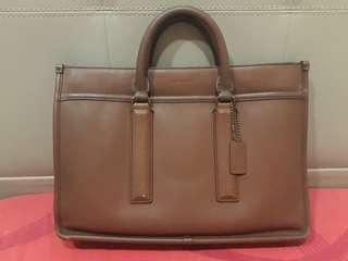 Coach legacy brief bag