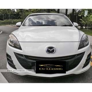 Rental Available for daily rental Mazda 3 1.6a