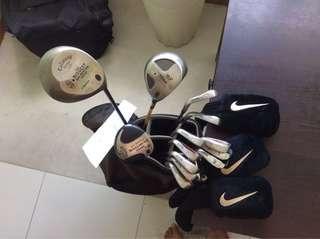 Maxfli Callaway Titleist Golf Set With Bags