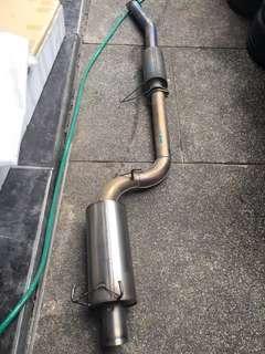 ARC R32 Titanium Exhaust