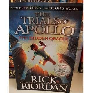 The Trials of Apollo, The Hidden Oracle by Rick Riordan