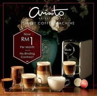 RM1 Arristo Diamond coffee machine