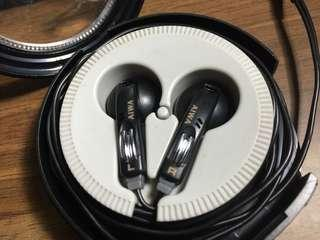 80年代絕版 AIWA V14 ,D9 V99 J9 耳機 80s (SONY MDR-D66 D77,D55,E888,E484)