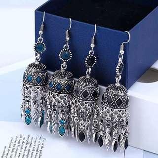 Indian jhumka traditional earrings jhumkas