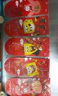 Timezone 2019 Spongebob Red Packet Ang Bao