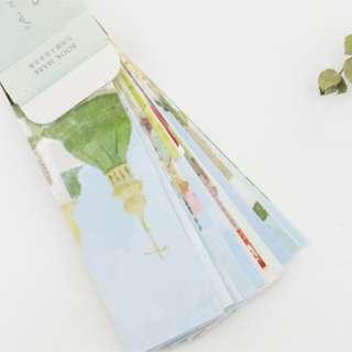 🚚 INS Bookmark Set - Wanderlust Series