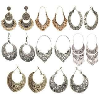 Indian traditional earrings jhumkas jhumka