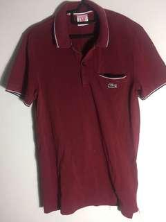 Lacoste Maroon Polo Shirt