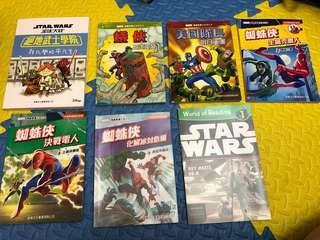 兒童故事書-Marvel書