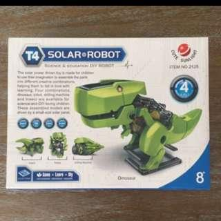 Solar Powered Toy- T-Rex dinosaur
