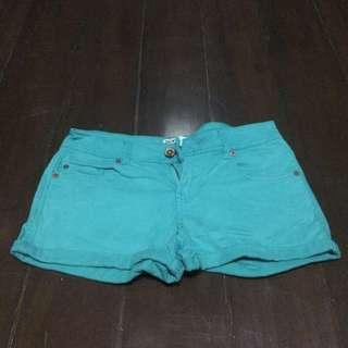 [ Preloved ] Aqua Colored Shorts