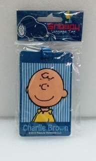 Snoopy 行李牌