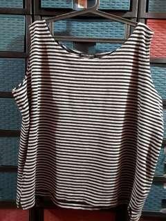 Ladies sleeveless top EUC 3XL Plus size