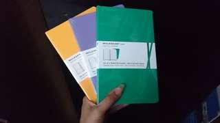 Notebook Moleskine Volant set 2 8657594a7d