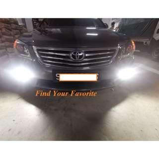 Toyota Camry foglight on H11 CREE Eutectic chips slim type - Cash&Carry NO INSTALLATION INCLUDED.